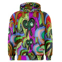 Colorful goat Men s Pullover Hoodie