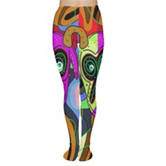 Colorful goat Women s Tights