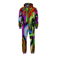 Colorful goat Hooded Jumpsuit (Kids)