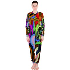 Colorful Goat Onepiece Jumpsuit (ladies)
