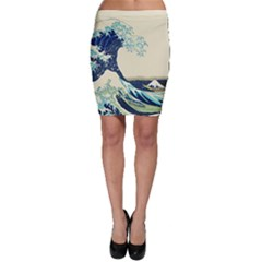 The Great Wave Bodycon Skirt