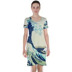 The Great Wave Short Sleeve Nightdress