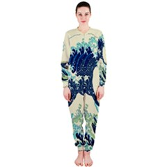 The Great Wave Onepiece Jumpsuit (ladies)