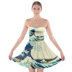 The Great Wave Strapless Bra Top Dress