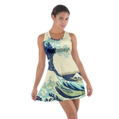 The Great Wave Cotton Racerback Dress
