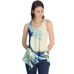 The Great Wave Sleeveless Tunic