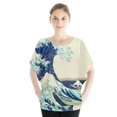 The Great Wave Blouse