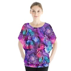 Glowing Abstract Blouse