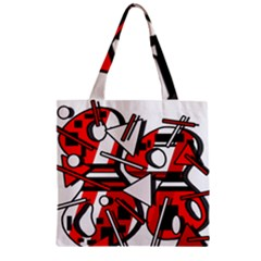 88 Zipper Grocery Tote Bag