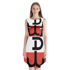Flag Of The Polish Underground State, 1939 1945 Sleeveless Chiffon Dress