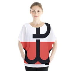Flag Of The Polish Underground State, 1939 1945 Blouse
