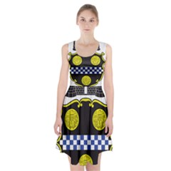 Pittsburgh Coat of Arms  Racerback Midi Dress
