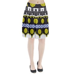 Pittsburgh Coat of Arms  Pleated Skirt