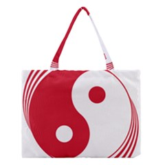 Roundel of Singapore Air Force, 1973-1990  Medium Tote Bag