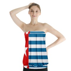 Flag of Free Papua Movement  Strapless Top