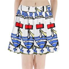 Tórshavn Insigna Pleated Mini Skirt
