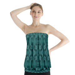 Celtic Gothic Knots Strapless Top