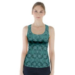 Celtic Gothic Knots Racer Back Sports Top