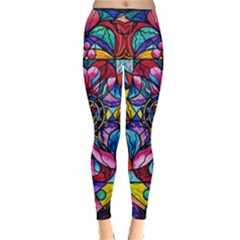 Self Love Blue Ray Healing   Woman s Winter Leggings