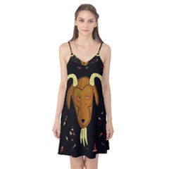 Billy goat 2 Camis Nightgown