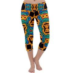 Gunja Highman Capri Yoga Leggings