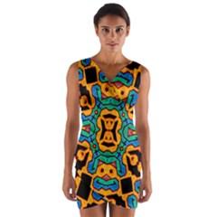 Gunja Highman Wrap Front Bodycon Dress