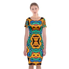 Gunja Highman Classic Short Sleeve Midi Dress