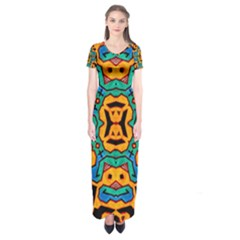 Gunja Highman Short Sleeve Maxi Dress
