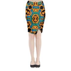 Gunja Highman Midi Wrap Pencil Skirt