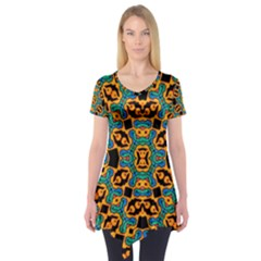 Gongo Short Sleeve Tunic