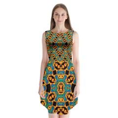 Gongo Sleeveless Chiffon Dress