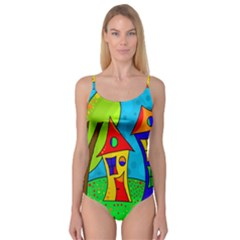 Two houses  Camisole Leotard