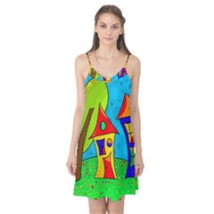 Two houses  Camis Nightgown