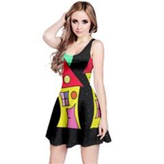 Two houses 2 Reversible Sleeveless Dress