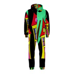 Two houses 2 Hooded Jumpsuit (Kids)