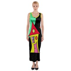 Two Houses 2 Fitted Maxi Dress