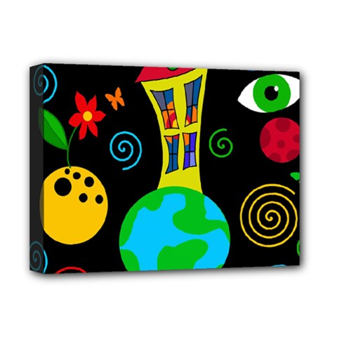 Playful universe Deluxe Canvas 16  x 12