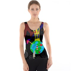 Colorful universe Tank Top