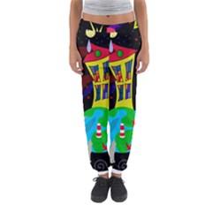 Colorful Universe Women s Jogger Sweatpants
