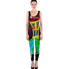 Colorful universe OnePiece Catsuit