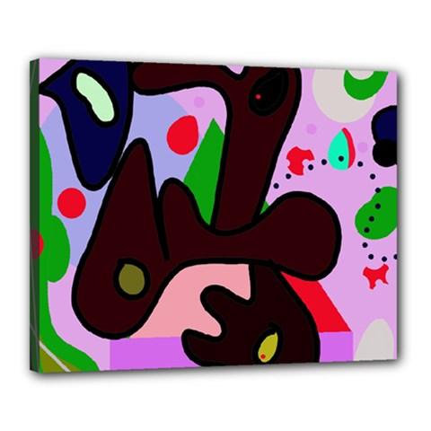 Decorative abstraction Canvas 20  x 16