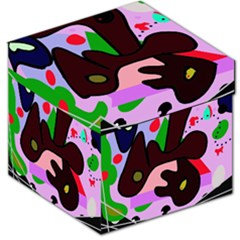 Decorative abstraction Storage Stool 12