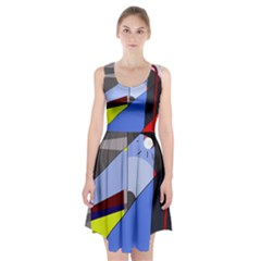 Street light Racerback Midi Dress