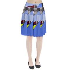 Street Light Pleated Skirt