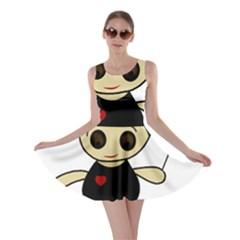 Cute doll girl Skater Dress