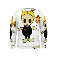 Cute doll girl Kids  Sweatshirt