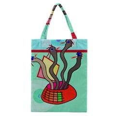 Dancing  snakes Classic Tote Bag