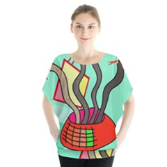 Dancing  Snakes Blouse