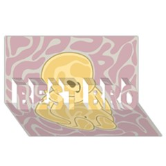 Cute thing BEST BRO 3D Greeting Card (8x4)