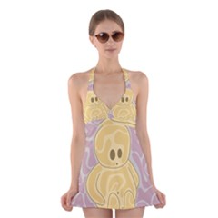 Cute Thing Halter Swimsuit Dress